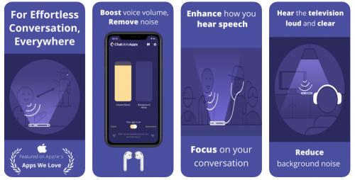 chatable app et la perte auditive liée à l'âge