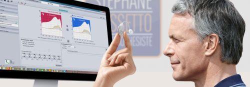 audioprothésiste : profession paramédical, bac+3, commerçant, vendeur de prothèses auditives sur prescription de l'ORL
